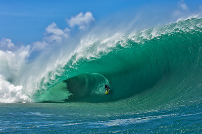 Manoa Drollet at Teahupoo