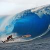 surf and windsurf at teahupoo