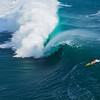 big wave surfing at teahupoo