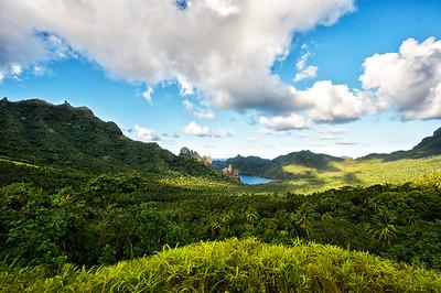 Nuku Hiva Mountains Marquisas