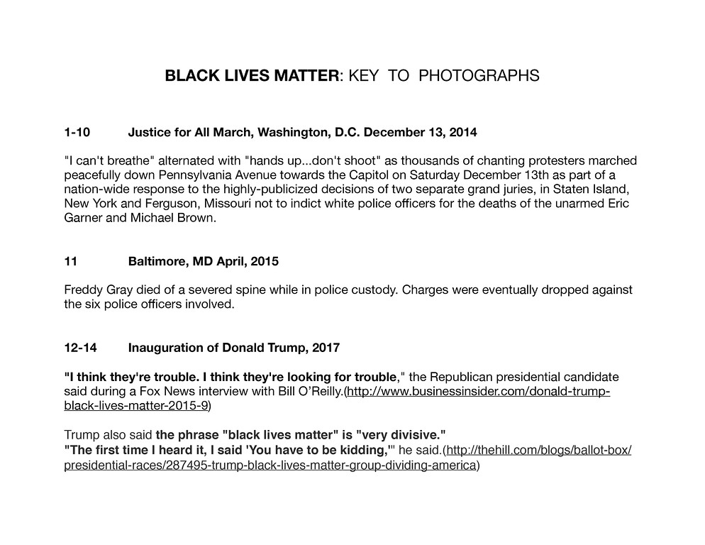 BLM key to photographs