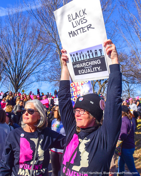 20) WOMEN'S MARCH ON WASHINGTON, 2018