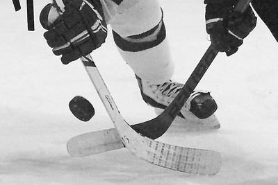 hockey b&w