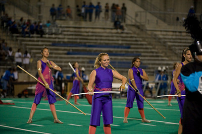 CHS color guard and stars