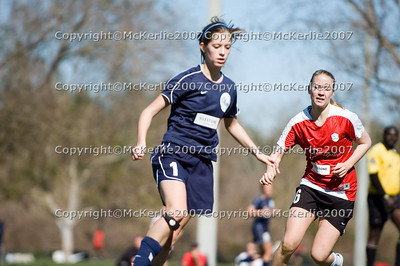 Eclipse Soccer- GIRLS- Eclipse(red) vs SCRC (navy