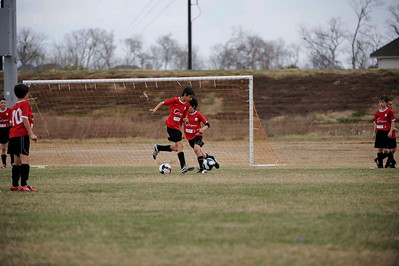 Eclipse soccer BOYS- Albion (white shirts) vs Texans (red)