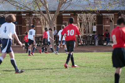 Eclipse soccer BOYS- Texans (white with black) vs Eclipse (red)