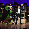 Phillies Phanatic, Swoop, Yannick Nézet-Séguin and John Lithgow at the Academy of Music Concert and Ball 1/2020