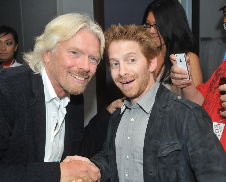 Virgin America Celebrates First Flight to Philadelphia With Star-Studded Red Carpet Launch Party Hosted by Sir Richard Branson at Hotel Palomar