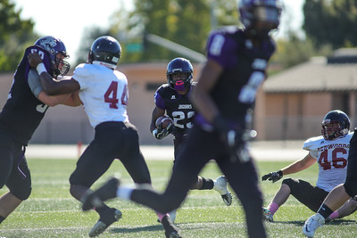 Football: College of the Redwoods vs SJCC