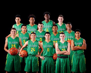 SJHS Boys Varsity Basketball 2017