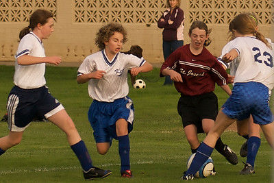 Varsity B Soccer 2008
