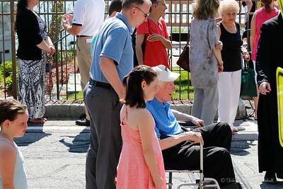 SJTE Prayer Garden Dedication with Cardinal Dolan