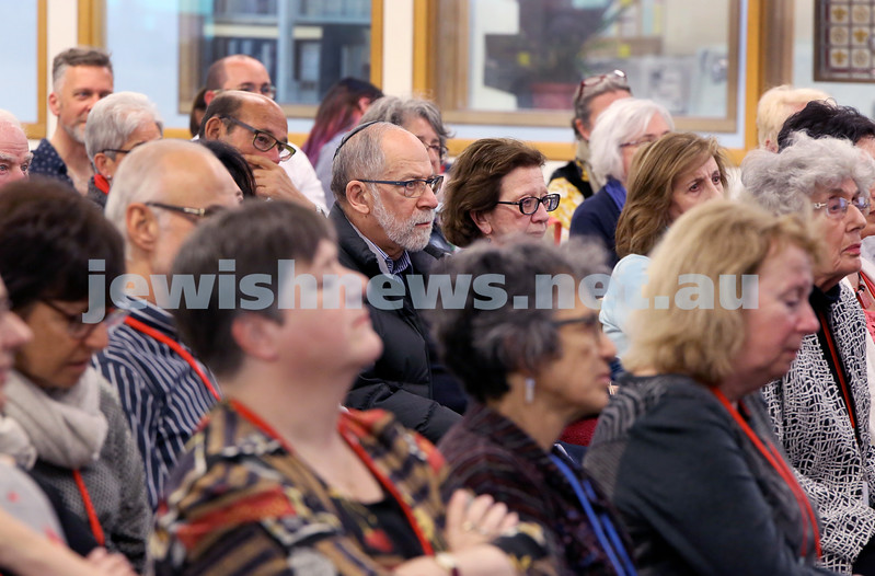 SJWF at Waverley Library. Crowds. Pic Noel Kessel.