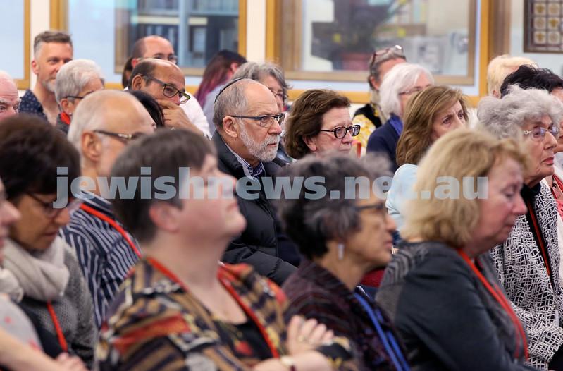 SJWF at Waverley Library. Crowds. Pic Noel Kessel.