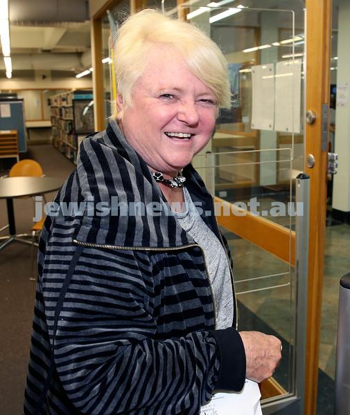 SJWF at Waverley Library. Di Englander. Pic Noel Kessel.