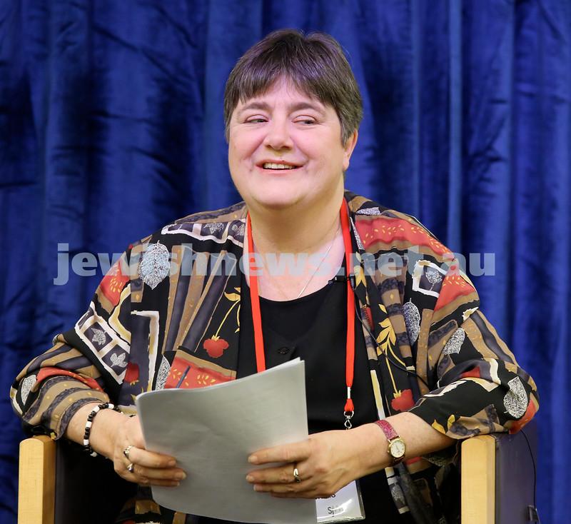 SJWF at Waverley Library. Author Julie Thomas. Pic Noel Kessel.