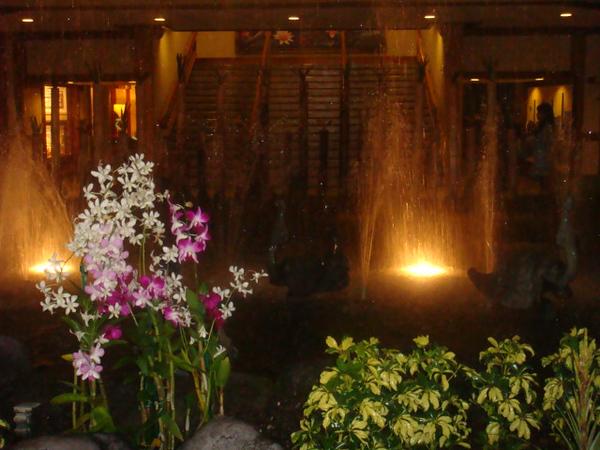 Hyatte Regency Hotel lobby