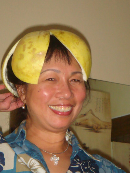 Jabon fruit hat for my head