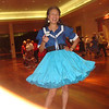 shucks.. I got blue and white but not Red.. with the new blue top and turquois petticoat..