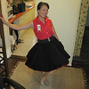 line dance outfit turned into SQ dance outfit at night.. just with petticoat