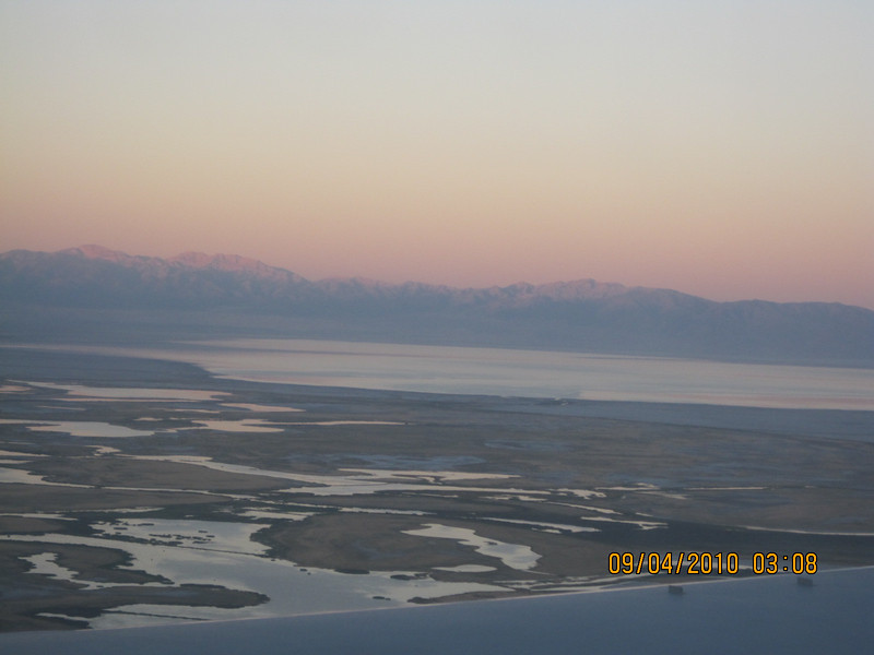 see the Salt Lake?