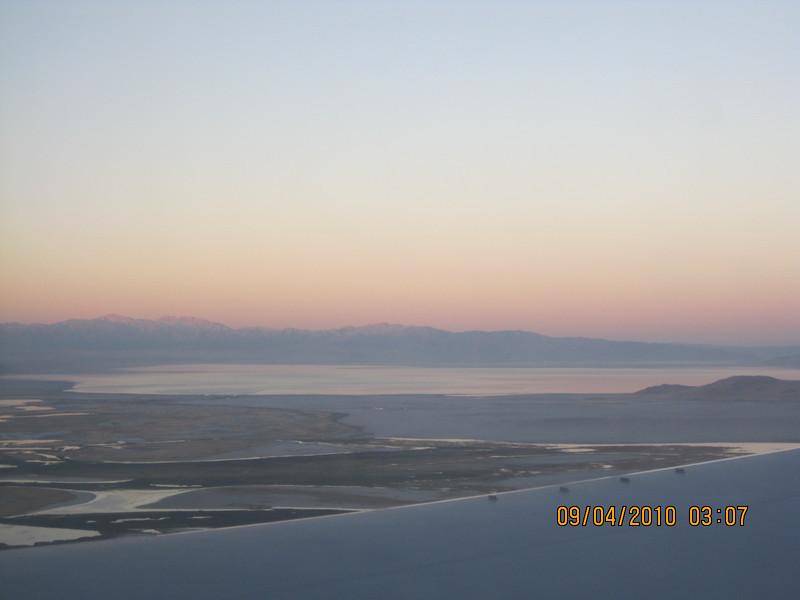 Over Salt lake city>>>