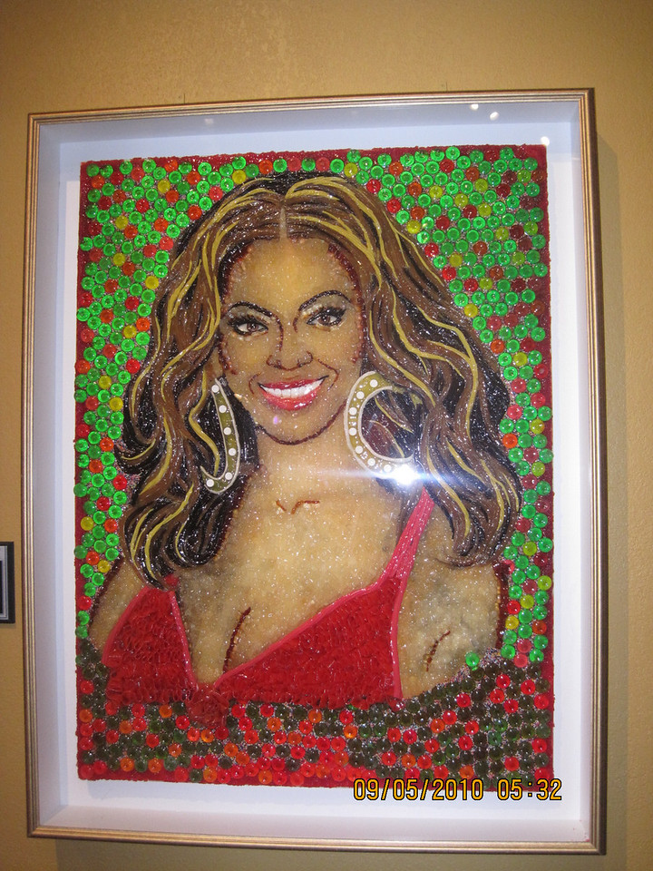 another lint art of Beyonce
