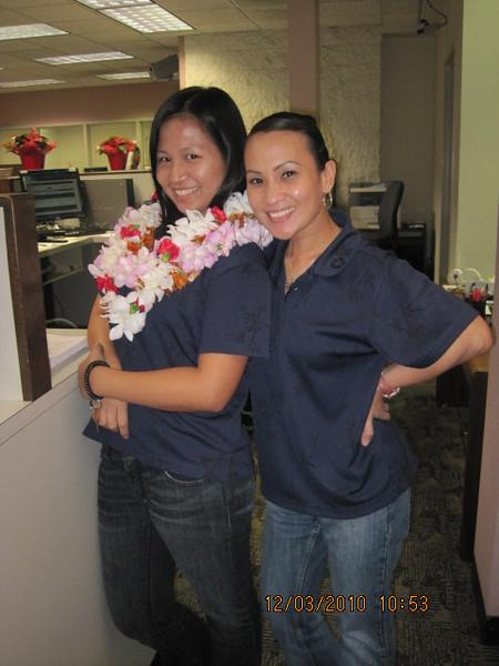 Maria and Pia