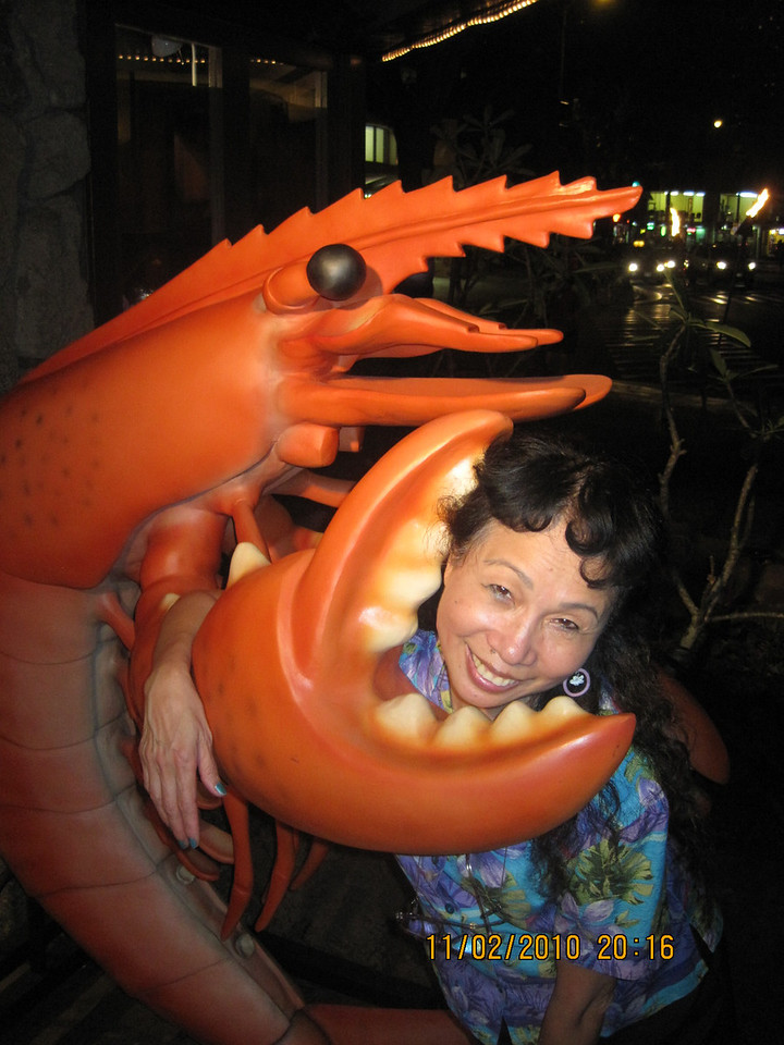 Finally...revenge of the Crustaceans!