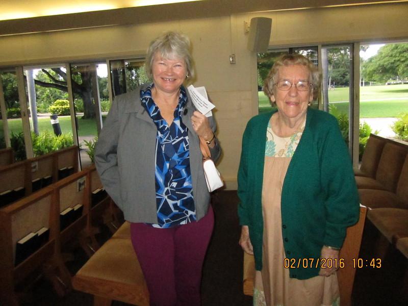 Kathy & Mary