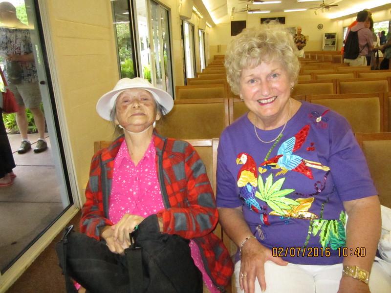 Mama Ellen with Karen Kemp
