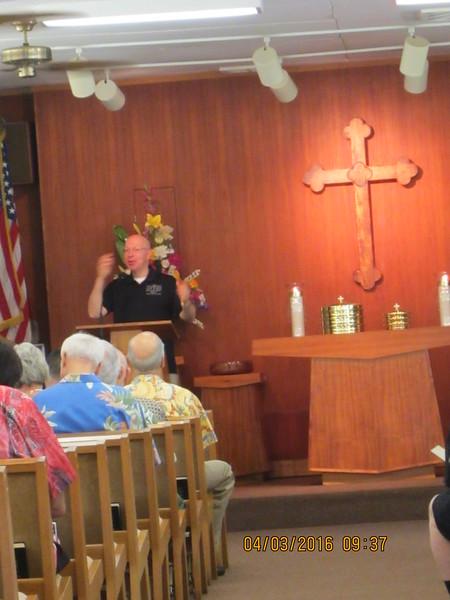 """Sermon """"In the Name of Jesus"""" by Bob Marsi"""