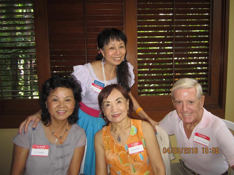 with LC - Linda & David