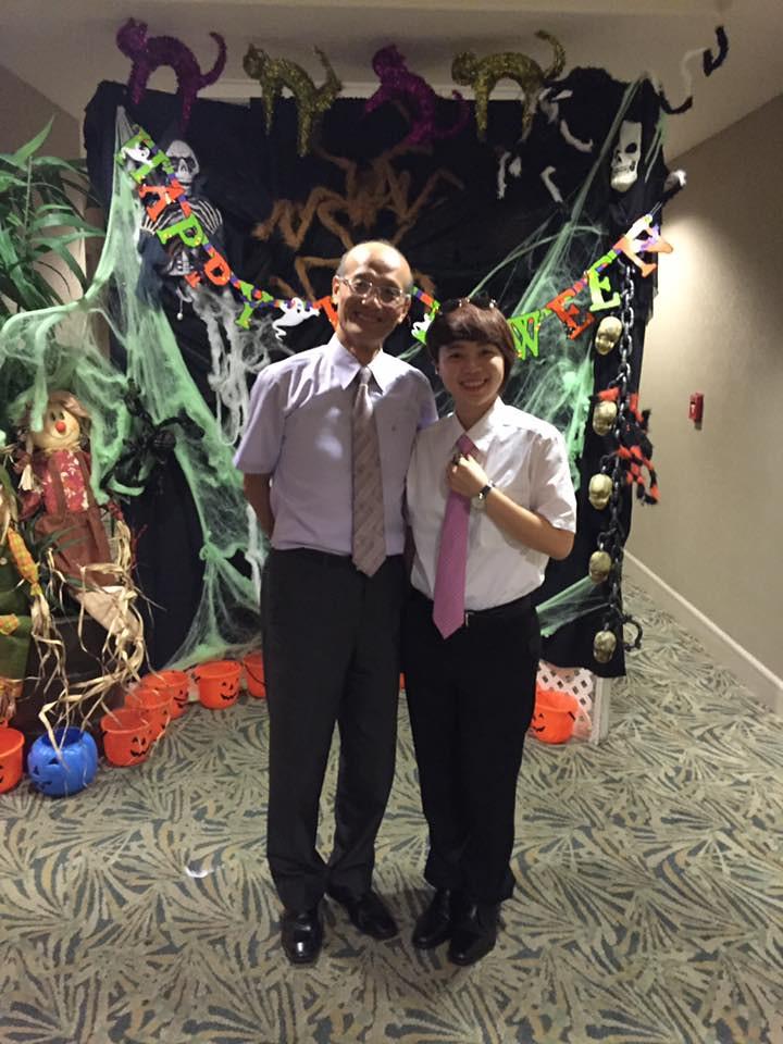 Stella with CAL Mgr Mr. Wu