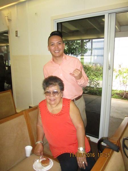 Jordan with grandma Lydia