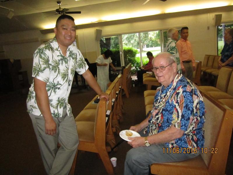 Ch. Kim with Warren
