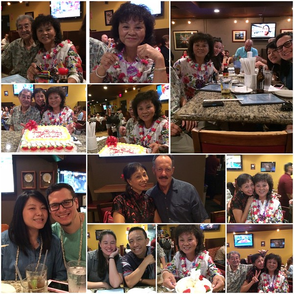 01/26/2017 LC's 60th celebration with her family and mine.