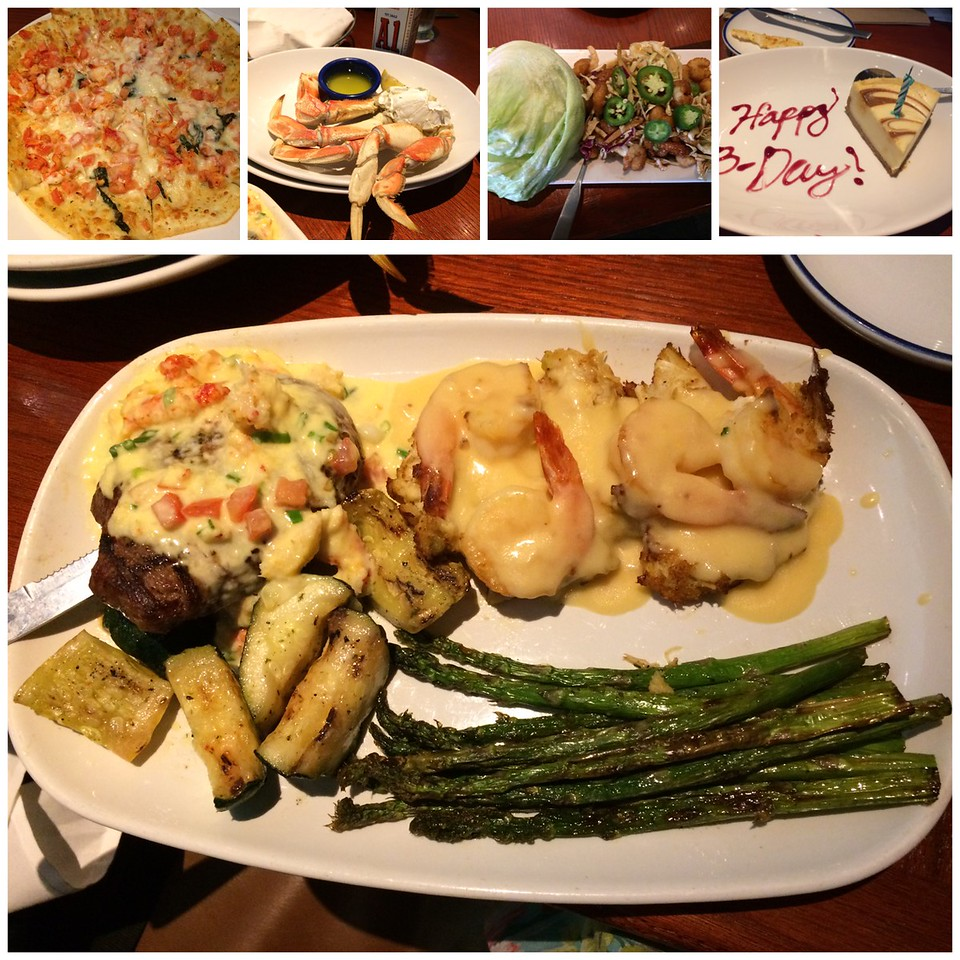 We had a good meal at Red Lobster