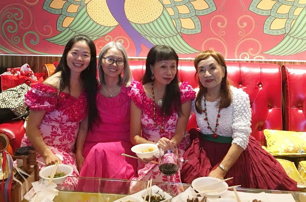 with Amy - Susan & Linda