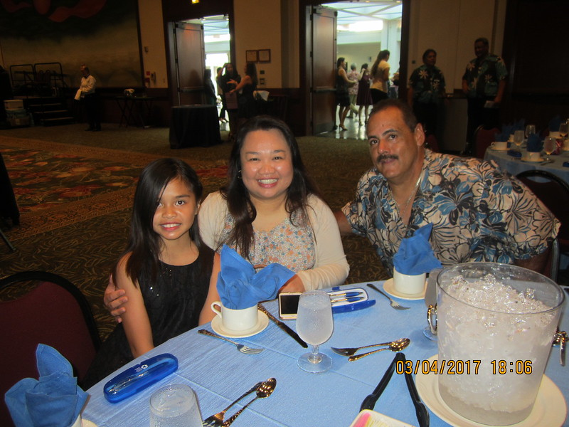 Analyn with Chad and niece