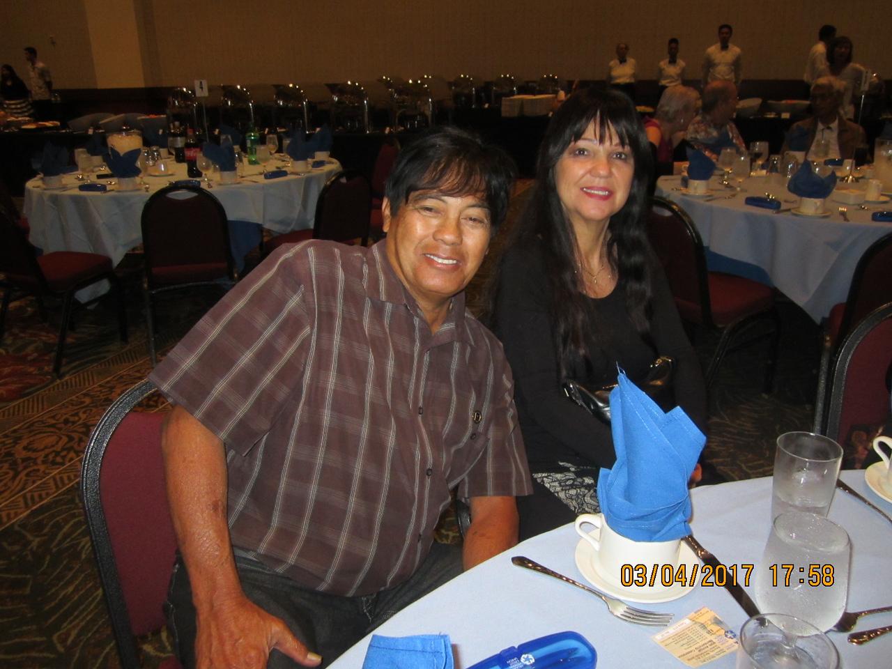 our member Steven and Linda