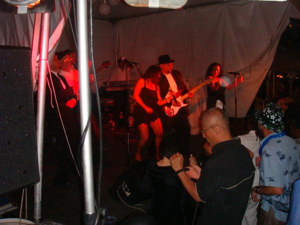 This band was playing at Sheraton Waikiki last year.