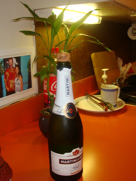 My favorite drink to celebrate New Year 2009.  You will see how I drink in the public...