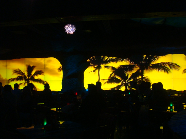 Inside J Buffets... Mauka wall...