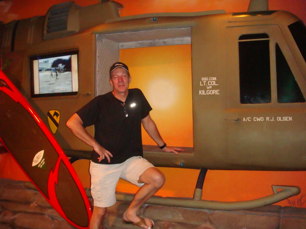 at surf board museum..