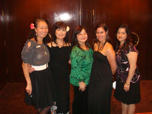 Almost all Hickam Branch..Sandi is working at Pearl Ridge branch.  SJ - Nenette- Alva - Sandi - Mikie..