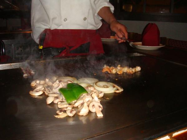 yeah... it was shrimp ...