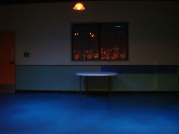 """060309 Wednesday night.. just before the play ..  """"Blue Plate Special"""""""