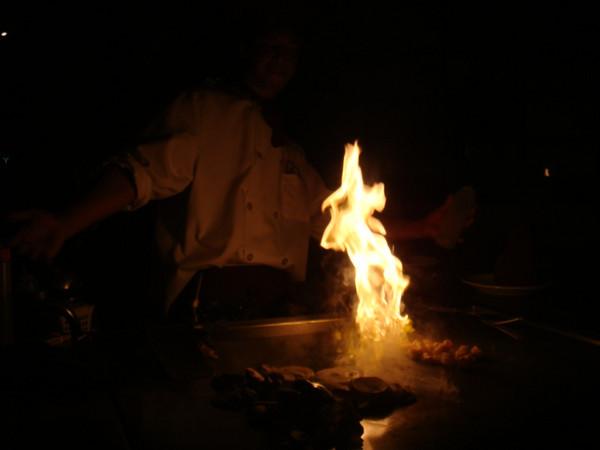 it was shrimp on fire?